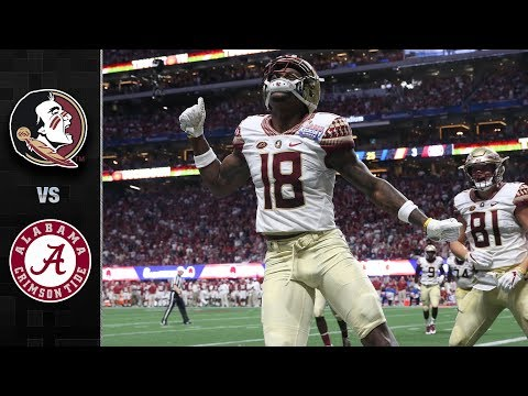 Florida State vs. Alabama Football Highlights (2017)