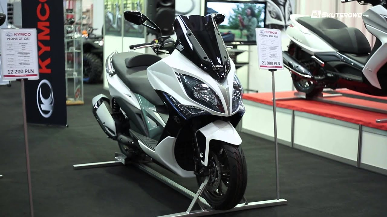 kymco xciting 400i 2015 prezentacja youtube. Black Bedroom Furniture Sets. Home Design Ideas