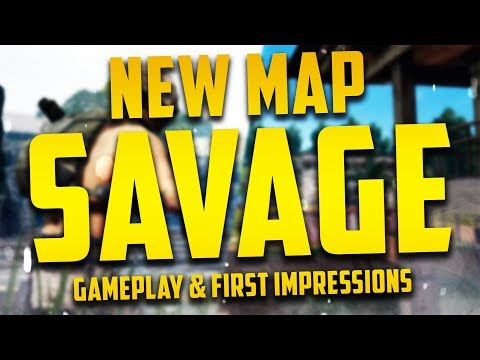 """*NEW* PUBG Map """"SAVAGE"""" - Gameplay & First Impressions!"""