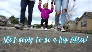 PREGNANCY ANNOUNCEMENT Our Family is Growing