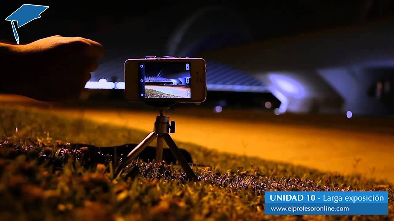 Fotografía De Larga Exposición Con Iphone Youtube