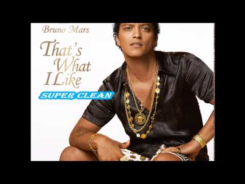 Bruno Mars - That's What I Like [Super Clean]