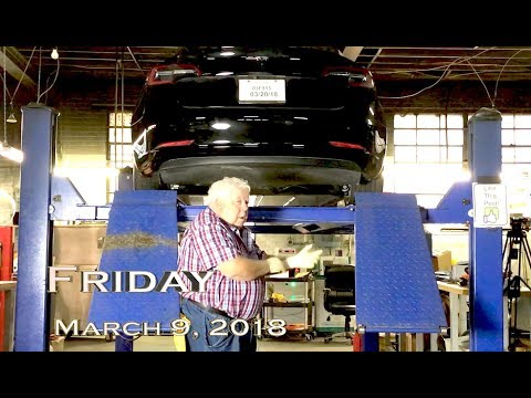EVTV Friday Show - Tesla Model 3 Rectal Exam