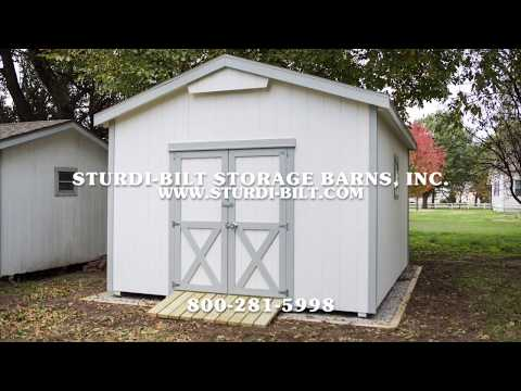 STURDI-BILT Storage Barns Delivery Process