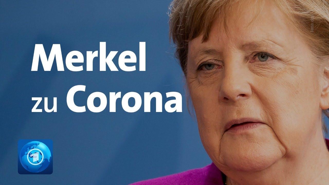 Coronavirus: Merkel nach Konferenz mit den Ländern