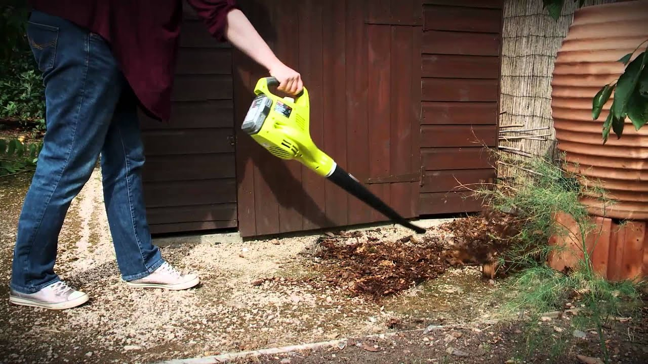 Top tips for using your leaf blower