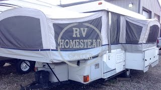 2004 FLEETWOOD BAYSIDE 3878 FOLD DOWN TRAVEL TRAILER OHIO CAMPER RV DEALER www.homesteadrv.net