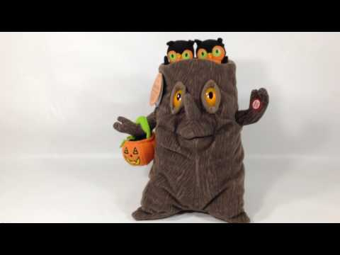 HALLMARK Plush ANIMATED MUSICAL SPOOKY TREE