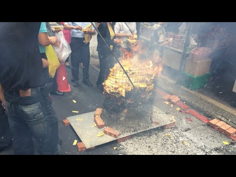 The Hungry Ghost Festival 2018 in Taipei, Taiwan