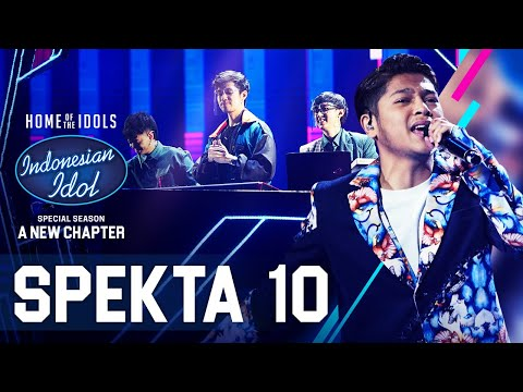 MARK X WEIRD GENIUS - CINTAKU (Chrisye) - SPEKTA SHOW TOP 4 - Indonesian Idol 2021