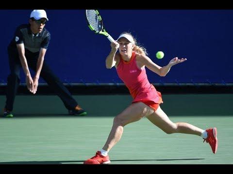 2017 Toray Pan Pacific Open Semifinals | Shot of the Day | Caroline Wozniacki