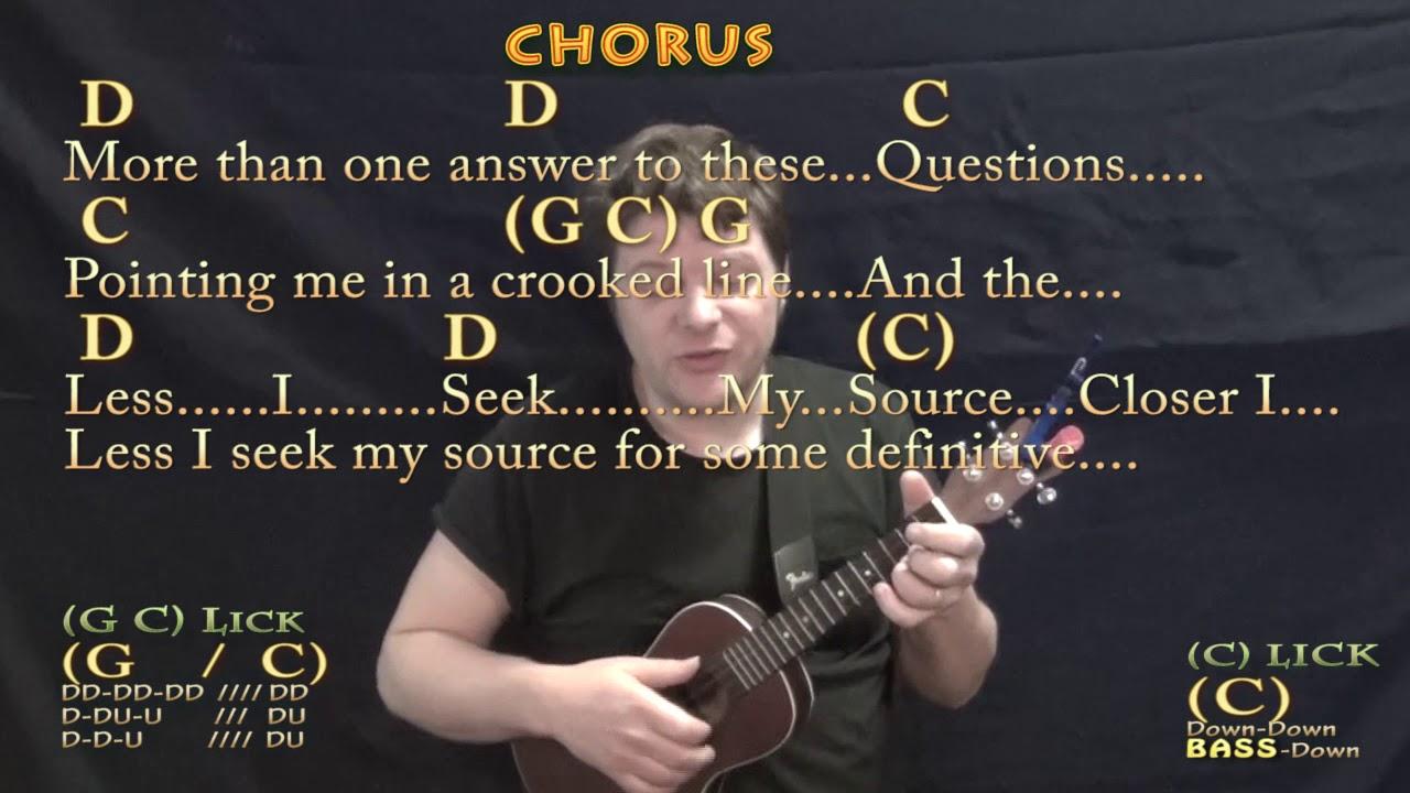Closer to Fine Indigo Girls Ukulele Cover Lesson in G with Chords/Lyrics