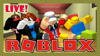 Roblox Live Stream - AAH! IT'S A ROBLOX CHARACTER! - Playing Games with Awesome Viewers