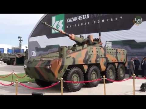 Barys 8x8 armoured infantry fighting vehicle unveiled KADEX 2016 Paramount Group Kazakhstan Engineer