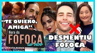 """🔥Após briga, Anitta grava 'La voz México' com Maluma e dispara: """"Tem mudado a minha vida"""""""