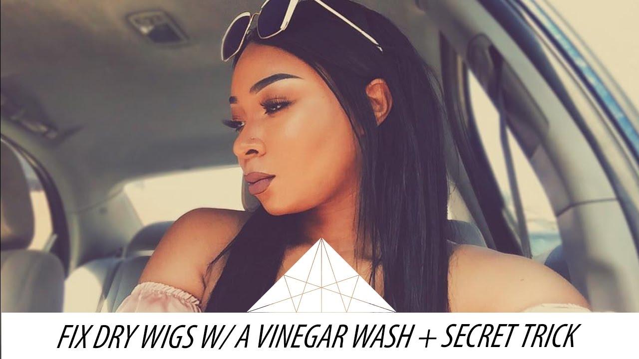 Fix Dry Wigs Weaves W Vinegar Wash My Trick To Lock In Moisture