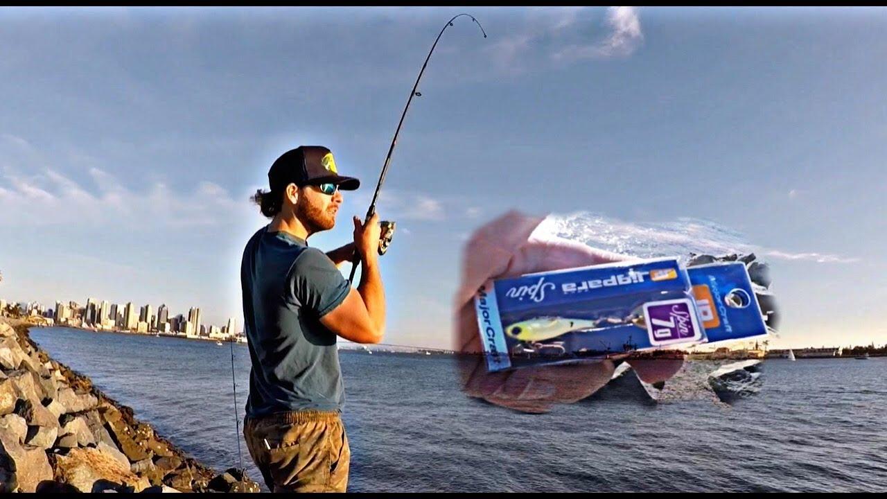 MAJOR CRAFT ULTRA LIGHT GAME FISHING LURE JIGPARA SPIN MICRO