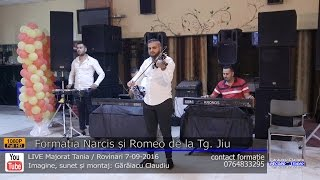 Formatia Narcis si Romeo de la Tg. Jiu INSTRUMENTALA LIVE Majorat Tania 7-09-2016