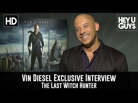 Vin Diesel Exclusive Interview - The Last Witch Hunter