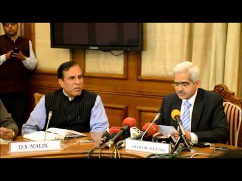 Press Conference by Shri Shaktikanta Das, Secretary DEA