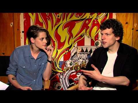 Interview: American Ultra stars Kristen Stewart and Jesse Eisenberg