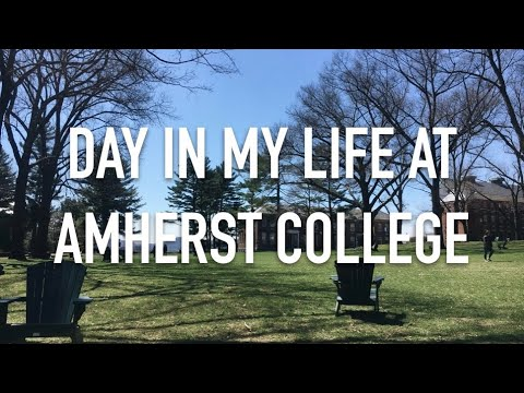 VLOG: DAY IN MY LIFE AT AMHERST COLLEGE 8