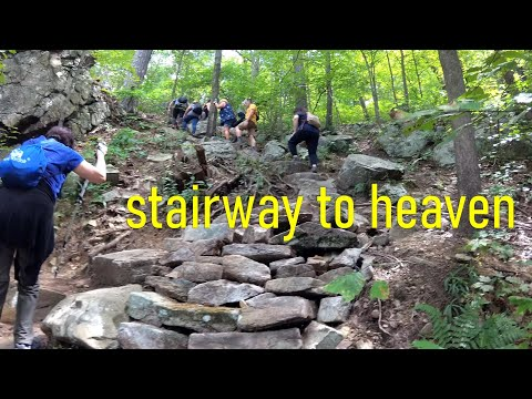 Stairway To Heaven Hiking Trail In New Jersey