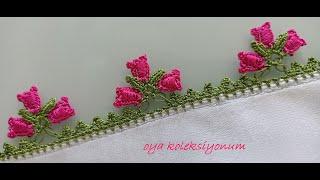 ÜÇLÜ FISTIK OYASI YAPIMI tığoyası kniting oyayapımı