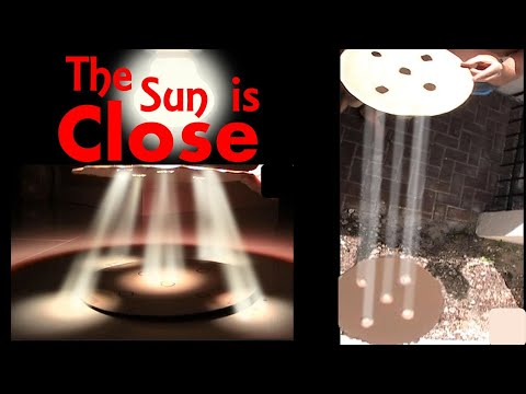 Crepuscular Rays Prove Close Sun; Prove Flat Earth Explained Part 2 thumbnail