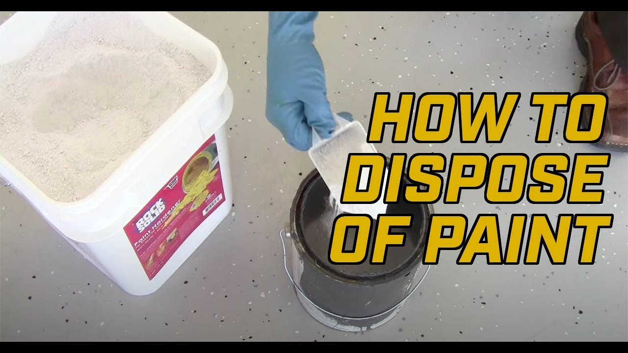How to Dispose of Waste or Leftover Paint