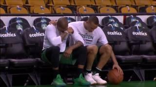 [NBA悲報] アイザイア・トーマスが自分の妹の急死に号泣する