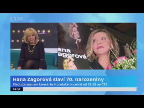 Hana Zagorová - 70. narozeniny / ROZHOVOR /