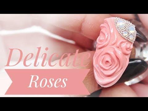 💅💅 :: Delicate Roses :: 💅💅 Nailart By Natalia