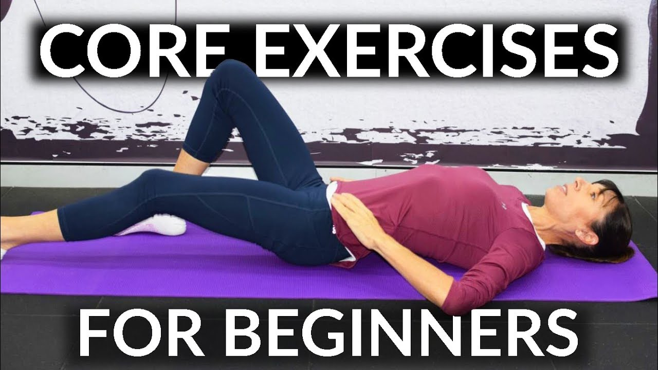 Easy Core Exercises For Beginners Home Routine Youtube