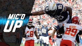 Mic'd Up Antonio Gates Goes For the Record Books in Week 17 vs. Chiefs | NFL Films | Sound FX