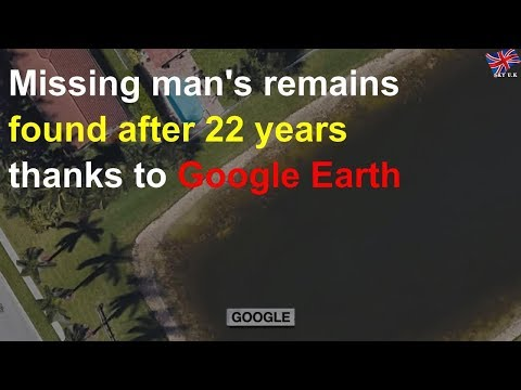 Jonny Hartwell - Missing Man's Body Found Thanks To Google Earth Viewer