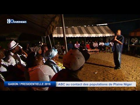 GABON / PRESIDENTIELLE 2016 : ABC AU CONTACT DES POPULATIONS DE PLAINE NIGER