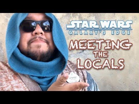 Galaxy's Edge - Meeting the Locals of Batuu