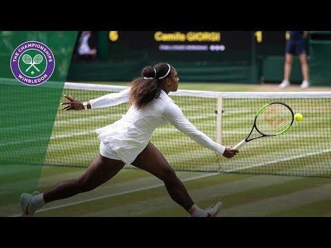 Serena Williams vs Camila Giorgi QF Highlights | Wimbledon 2018