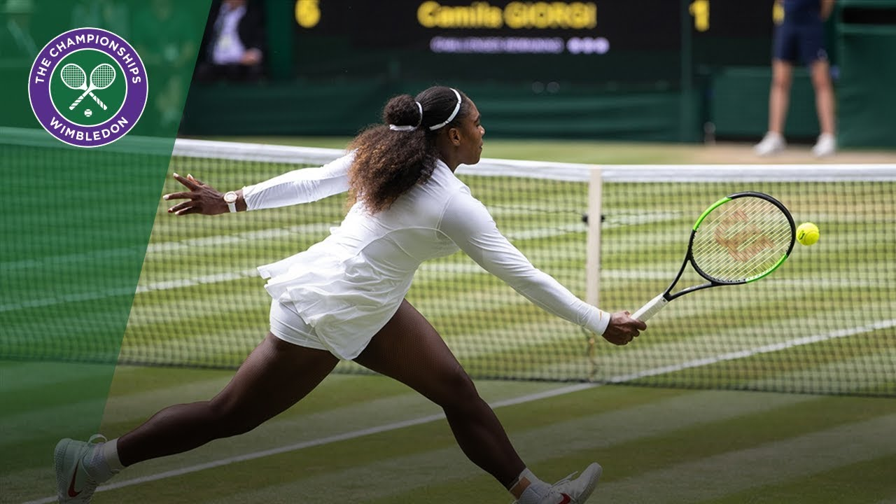 Serena Williams Was on a Roll at Wimbledon. Simona Halep Stopped Her.