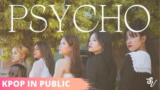 Red Velvet Psycho Dance Cover in Public By Strawberry Velvet