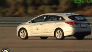 Hyundai i40 ESC TEST