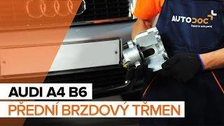 Výměna Třmen brzdy AUDI A4 (8E2, B6) - průvodce