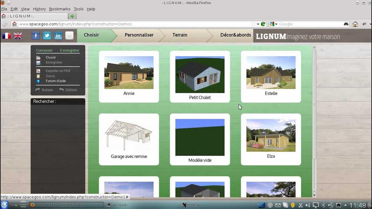 Lignum webgl html5 house configurator demo youtube for House configurator