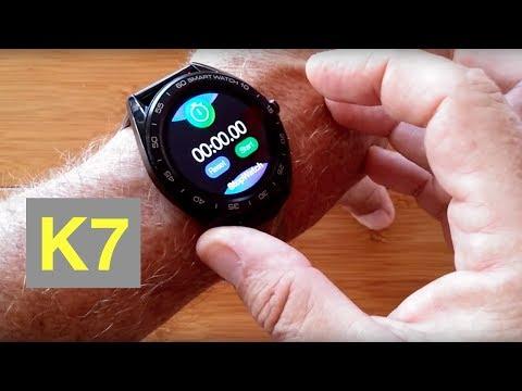 senbono-k7-ip68-waterproof-carbon-fiber-backed-blood-pressure-sports-smartwatch:-unboxing-&-1st-look