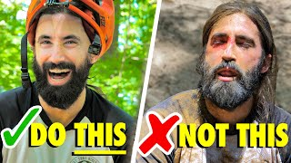 How to Progress Your Mountain Biking WITHOUT Crashing and Getting Hurt