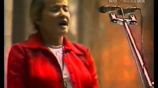 Юлия Друнина читает свои стихи - Прощание (1976)