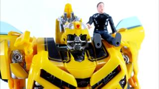 Transformers. Bumblebee action figure. Toys from Aliexpress. Unboxing