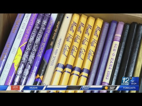 Monett High School selling yearbooks dating back to fifty years ago