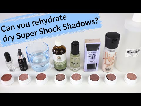 Which Works Best? Rehydrating Colourpop Super Shock Shadows | THE MAKEUP BREAKUP